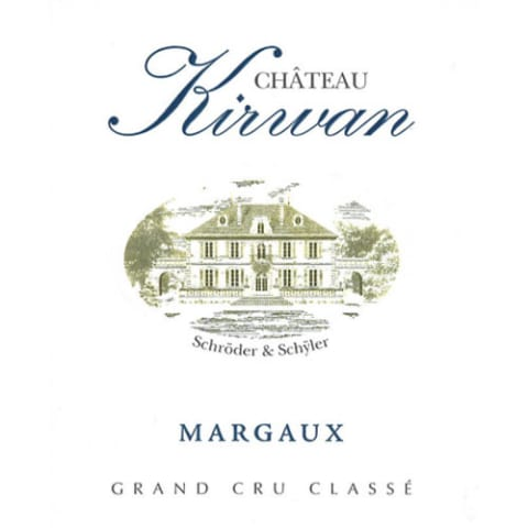 Chateau Kirwan  2014 Front Label
