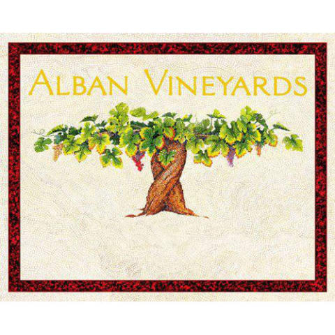 Alban Reva Estate Syrah 2010 Front Label
