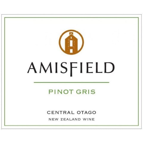 Amisfield Pinot Gris 2013 Front Label