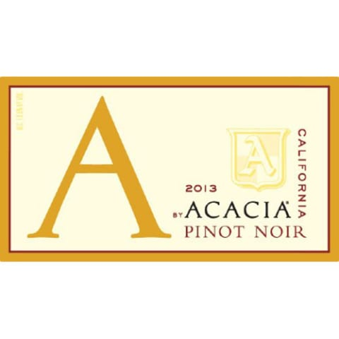 A by Acacia Pinot Noir 2013 Front Label
