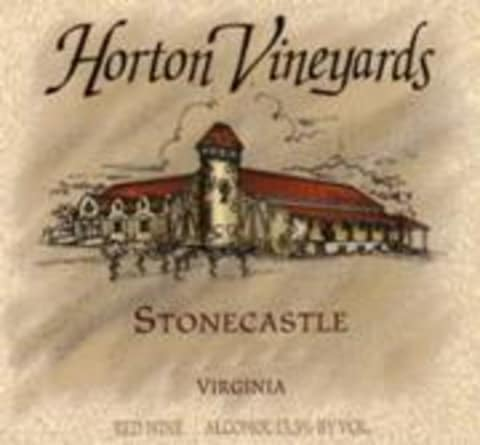 Horton Stonecastle Rose 1998 Front Label