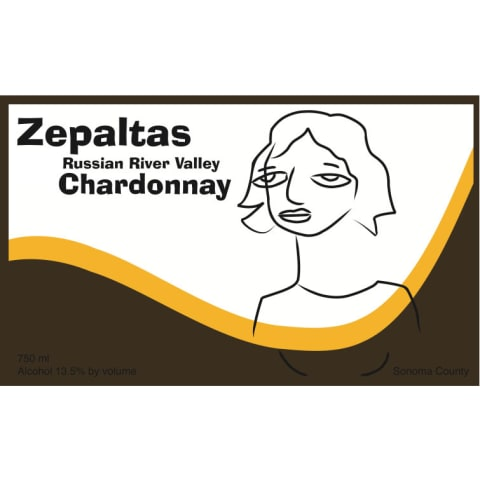 Zepaltas Russian River Chardonnay 2013 Front Label