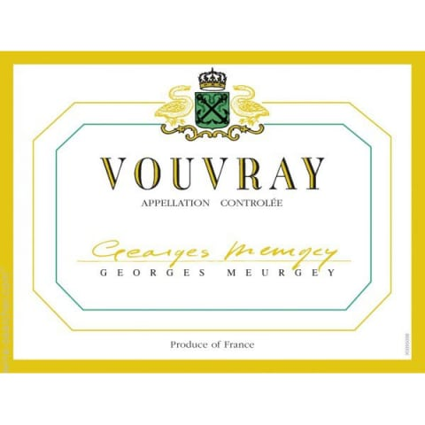 Georges Meurgey Vouvray 2011 Front Label