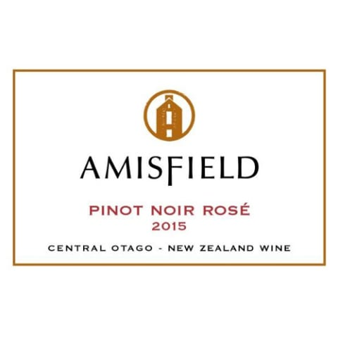 Amisfield Rose 2015 Front Label