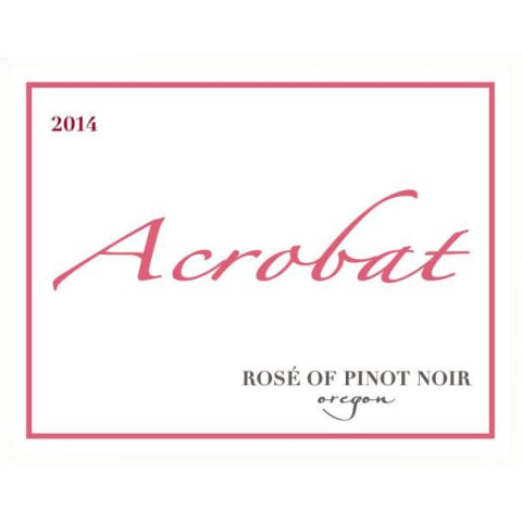 Acrobat Rose of Pinot Noir 2014 Front Label