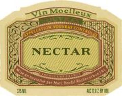 Marc Bredif Nectar Vouvray (half-bottle) 1989 Front Label