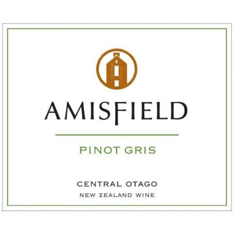 Amisfield Pinot Gris 2011 Front Label