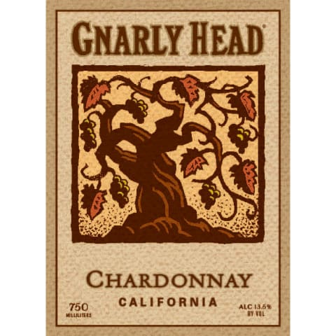 Gnarly Head Chardonnay 2014 Front Label