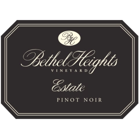 Bethel Heights Estate Pinot Noir 2013 Front Label