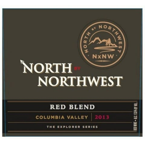 North by Northwest NxNW Red Blend 2013 Front Label