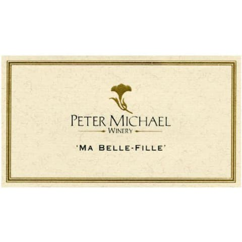 Peter Michael Ma Belle Fille Chardonnay 2003 Front Label