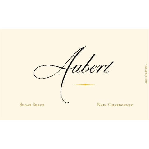 Aubert Sugar Shack Estate Chardonnay 2014 Front Label