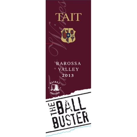 Tait The Ball Buster 2013 Front Label