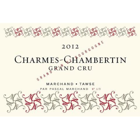Marchand-Tawse Charmes-Chambertin Grand Cru 2012 Front Label