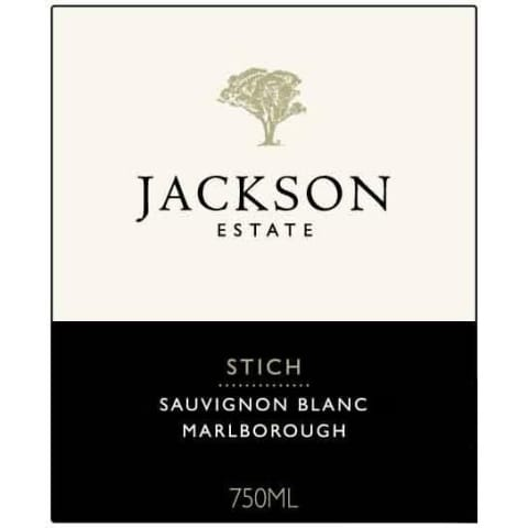 Jackson Estate Stich Sauvignon Blanc 2015 Front Label