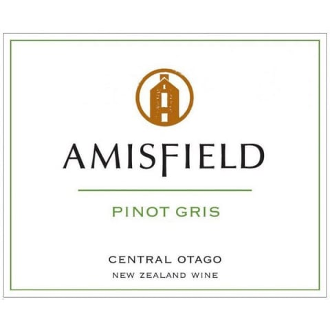 Amisfield Pinot Gris 2015 Front Label