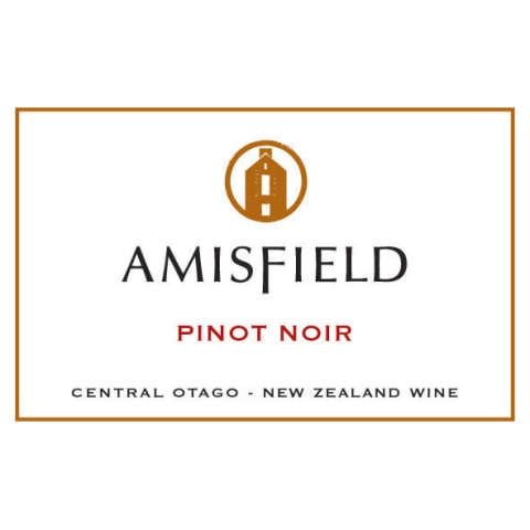 Amisfield Pinot Noir 2013 Front Label