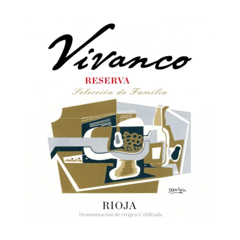 Vivanco Rioja Seleccion de Familia 2011 Front Label