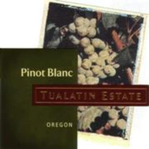 Tualatin Estate Pinot Blanc 1998 Front Label