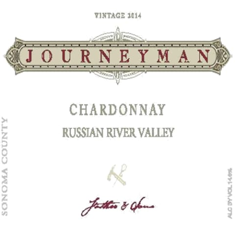 Journeyman Chardonnay 2014 Front Label