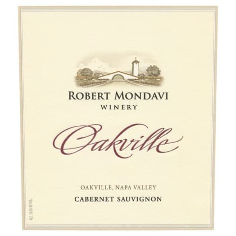 Robert Mondavi Oakville District Cabernet Sauvignon 2013 Front Label
