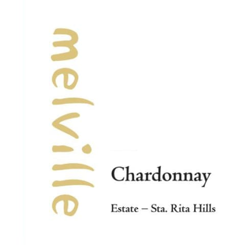 Melville Estate Chardonnay 2014 Front Label