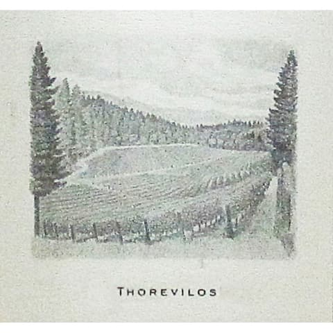 Abreu Vineyards Thorevilos (slightly scuffed label) 2001 Front Label