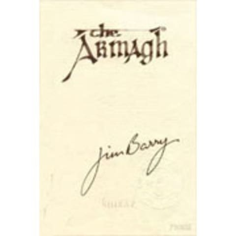 Jim Barry The Armagh Shiraz 1990 Front Label