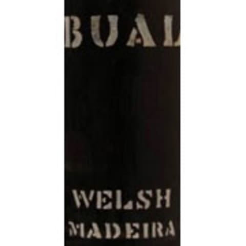 Welsh Brothers Bual Madeira 1934 Front Label