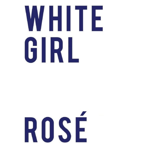 White Girl  Rose Front Label