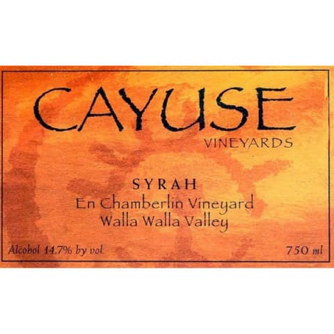 Cayuse En Chamberlin Syrah 2009 Front Label