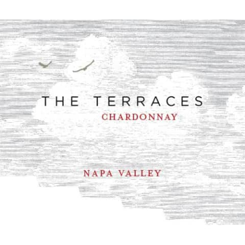 The Terraces Chardonnay 2015 Front Label