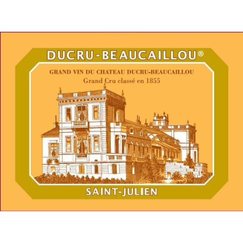 Chateau Ducru-Beaucaillou (1.5 Liter Magnum) 2015 Front Label