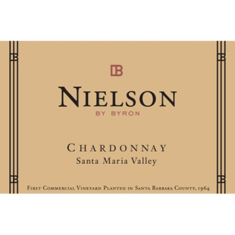 Nielson Santa Maria Valley Chardonnay 2015 Front Label