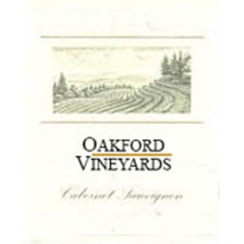 Oakford Vineyards Cabernet Sauvignon (Stained Labels) 1994 Front Label