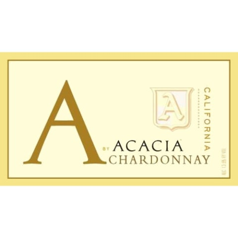 A by Acacia California Chardonnay 2013 Front Label