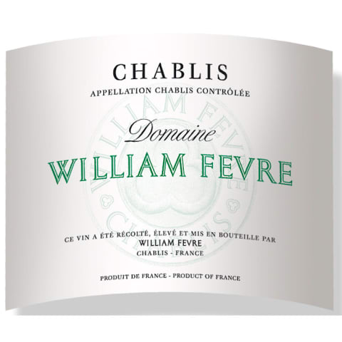 William Fevre Chablis Domaine 2015 Front Label