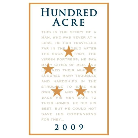Hundred Acre Few and Far Between Cabernet Sauvignon 2009 Front Label