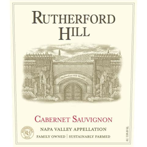Rutherford Hill Cabernet Sauvignon 2013 Front Label