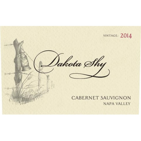 Dakota Shy Napa Valley Cabernet Sauvignon 2014 Front Label