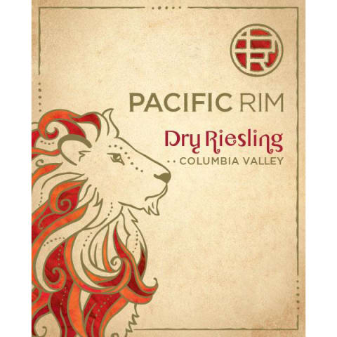 Pacific Rim Dry Riesling 2014 Front Label