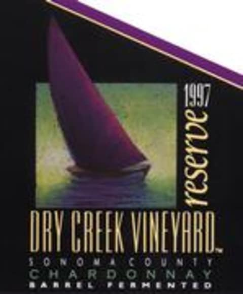 Dry Creek Vineyard Reserve Chardonnay 1997 Front Label