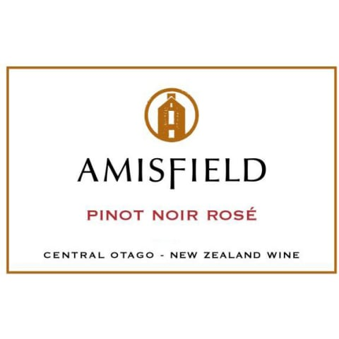 Amisfield Pinot Noir Rose 2016 Front Label