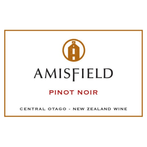 Amisfield Pinot Noir 2014 Front Label