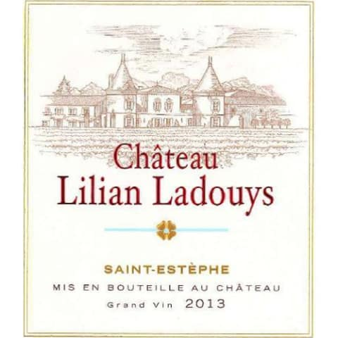 Chateau Lilian Ladouys  2013 Front Label
