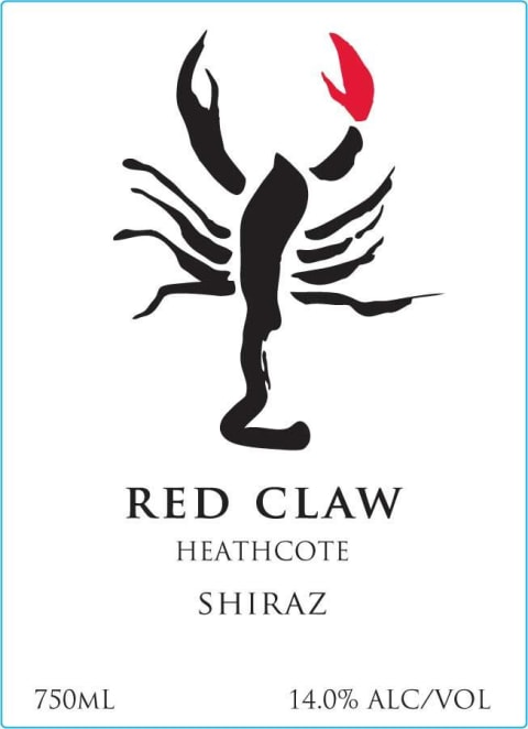 Yabby Lake Red Claw Shiraz 2014 Front Label