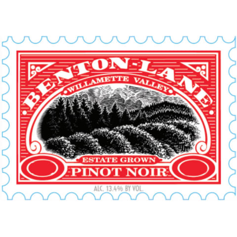 Benton Lane Pinot Noir (375ML half-bottle) 2014 Front Label