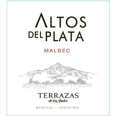 Terrazas De Los Andes Altos Del Plata Malbec 2015 Wine Com