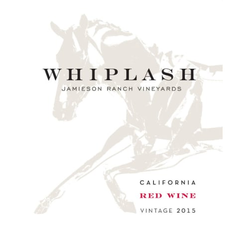 Jamieson Ranch Vineyards Whiplash Red Blend 2015 Front Label