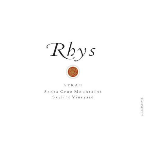 Rhys Vineyards Skyline Vineyard Syrah 2012 Front Label